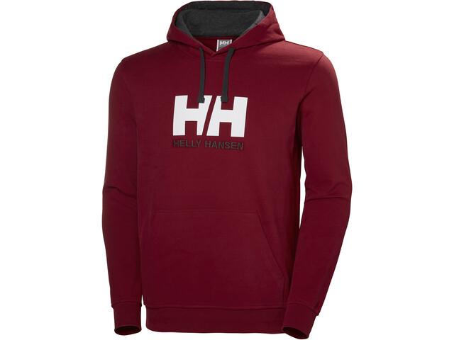 Helly Hansen HH Logo Hoodie Herren oxblood